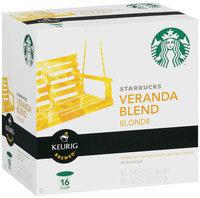 Starbucks® Veranda Blend Blonde Ground Coffee 16 Keurig Brewed® K-Cups®