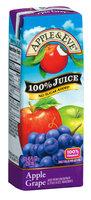 Apple & Eve® Apple Grape 100% Juice 3-8.45 fl. oz. Aseptic Packs