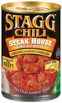 STAGG CHILI Steak House No Beans Chili 15 OZ CAN