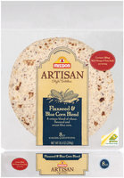 Mission Artisan Style Flaxseed & Blue Corn Blend 8 Ct Tortillas 10.4 Oz Bag