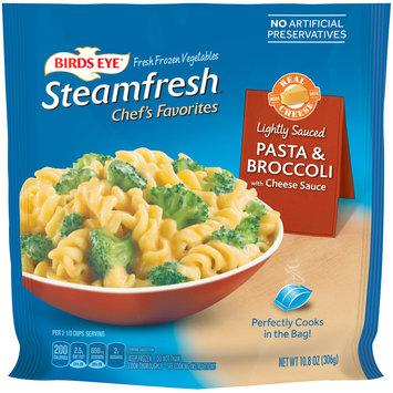 birds eye® steamfresh® chef's favorites pasta & broccoli with cheese sauce