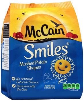 mccain® smiles® potatoes