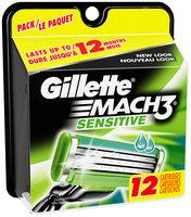 Gillette Mach3 Sensitive 12 Cartridges