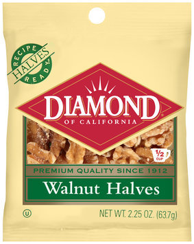 Diamond of California® Walnut Halves 2.25 oz. Bag