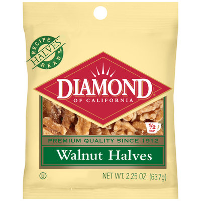 Diamond of California® Walnut Halves 2.25 oz. Bag