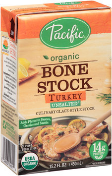 Pacific Organic Bone Stock Turkey Unsalted