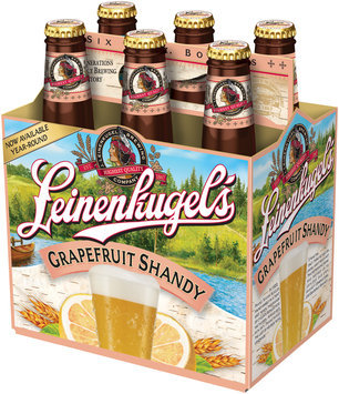 Leinenkugel's® Grapefruit Shandy 6–12 fl. oz. Glass Bottles