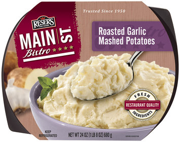 Reser's Main St. Bistro Roasted Garlic Mashed Potatoes 24 oz. Tray
