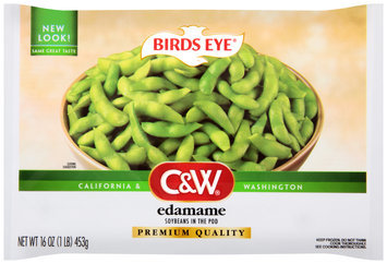 Birds Eye® C&W® Edamame Soybeans in the Pod 16 oz. Bag