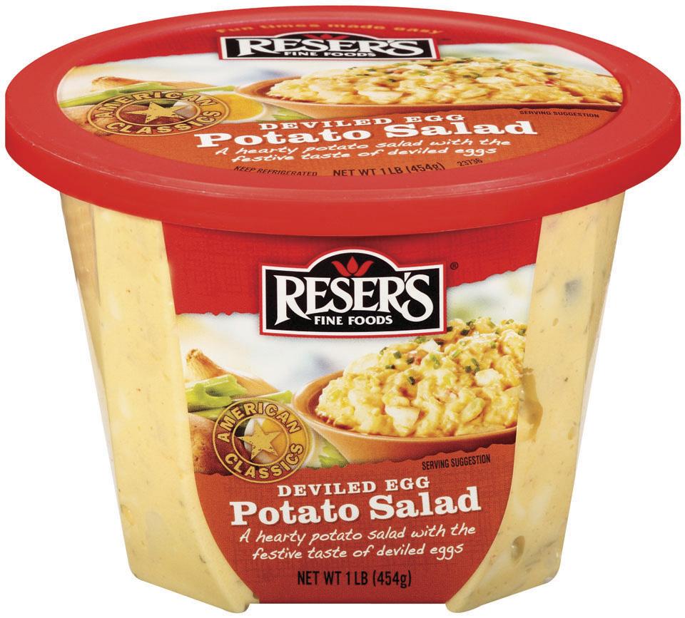 Reser's American Classics Deviled Egg Potato Salad 16 oz. Tub