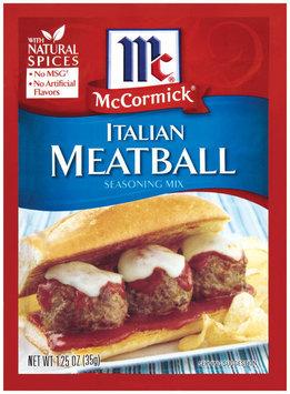 McCormick® Italian Meatball Seasoning Mix
