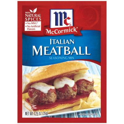 McCormick® Italian Meatball Seasoning Mix 1.25 oz