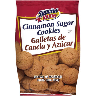 Special Value® Cinnamon Sugar Cookies 10 oz. Bag