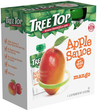 Tree Top® Mango Apple Sauce 3.2 oz. Pouch