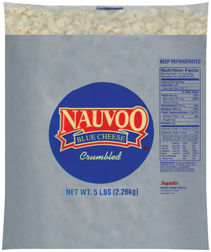 Treasure Cave® Nauvoo™ Blue Crumbled Cheese 5 lb. Bag