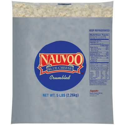 Treasure Cave® Nauvoo™ Blue Crumbled Cheese 5 lb. Bag
