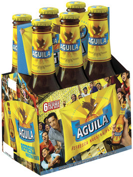 Aguila Secondary Pack 12 Oz Beer 6 Pk Bottles