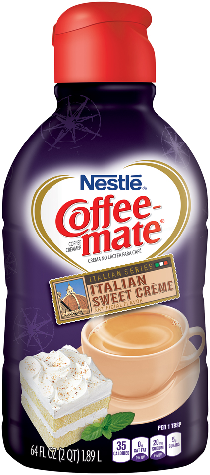COFFEE-MATE Italian Sweet Creme Coffee Creamer 64 fl. oz. Bottle