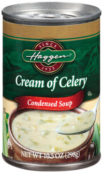 Haggen Cream of Celery Condensed Soup 10.5 Oz Pull-Top Can