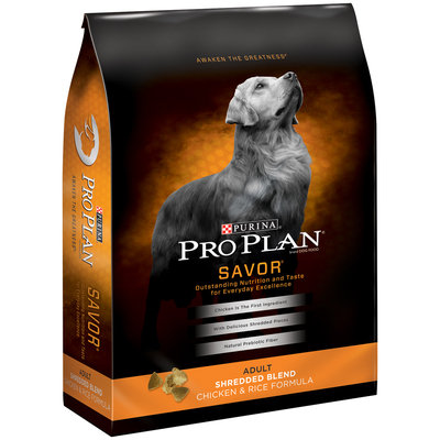 PRO PLAN® SAVOR® ADULT Shredded Blend Chicken & Rice Formula
