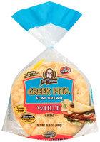 Papa Pita® White Greek Pita Flat Bread 16.8 oz. Bag