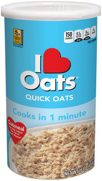 I Love Oats® Quick Oats 16 oz. Box