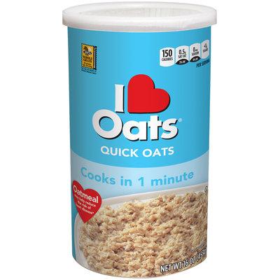 I Love Oats® Quick Oats 16 oz. Box