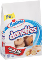 Hostess® Donettes® Glazed Mini Donuts 10.5 oz. Stand-Up Bag