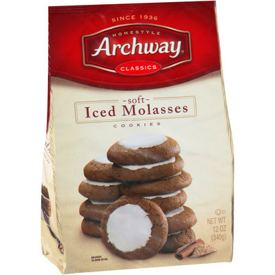 Archway® Soft Iced Molasses Cookies 12 oz. Bag