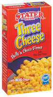 Stater Bros. Three Cheese W/Mini Pasta Shells & Cheese Dinner 7.25 Oz Box