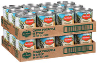 Del Monte® Pineapple Chunks in Heavy Syrup 48-15.5 oz. Cans