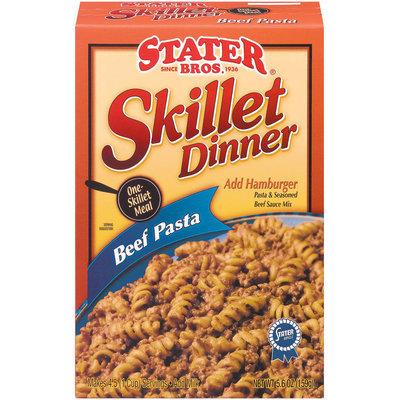 Stater Bros. Beef Pasta Skillet Dinner 5.6 Oz Box