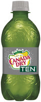 Canada Dry® TEN® Ginger Ale 12 fl. oz. Plastic Bottle
