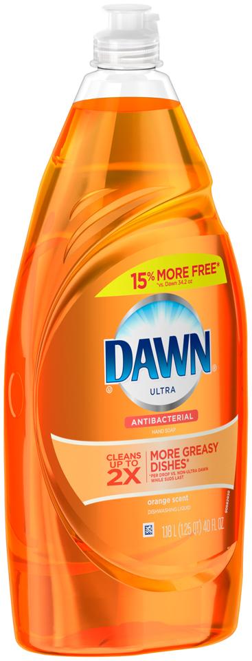 Dawn Ultra Dishwashing Liquid Antibacterial Orange