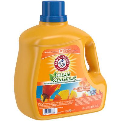 Arm & Hammer™ Clean Scentsations™ Sun-Kissed Flowers Laundry Detergent 160.5 fl. oz. Jug