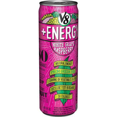 V8® +Energy White Grape Raspberry Juice 12 fl. oz. Can