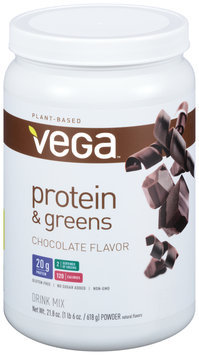 Vega™ Protein & Greens Chocolate Drink Mix 21.8 oz. Plastic Bottle