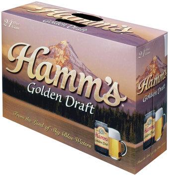 Hamm's Golden Draft 12 Oz Cans Beer 24 Pk Suitcase