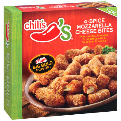 Chili's® 4-Spice Mozzarella Cheese Bites 16 oz. Box