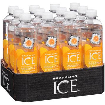Sparkling Ice® Essence of Tangerine Sparkling Water 12-17 fl. oz. Plastic Bottles