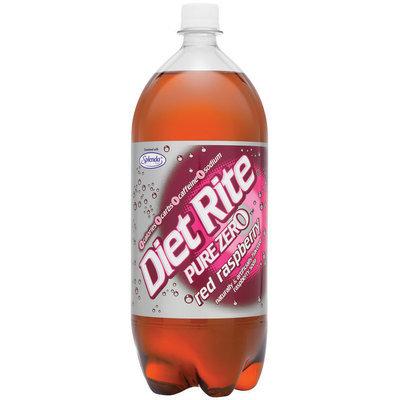 Diet Rite Red Raspberry Diet Soda 2 L Plastic Bottle
