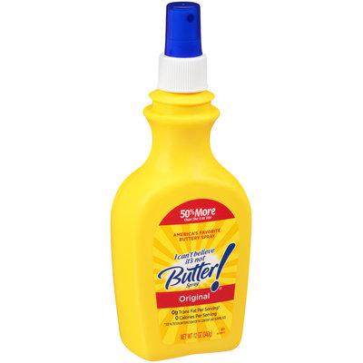 I Can't Believe It's Not Butter!® Original Spray 12 oz. Bottle