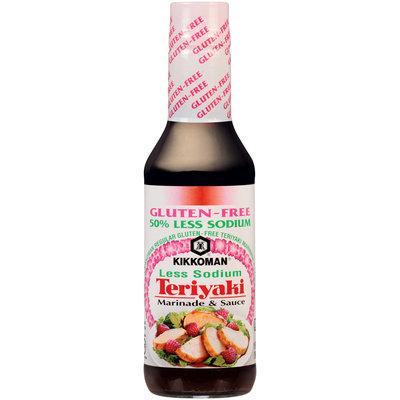 Kikkoman® Gluten-Free Less Sodium Teriyaki Marinade & Sauce 10 fl. oz. Bottle
