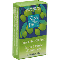 Kiss My Face Corp. Kiss My Face Bar Soap Pure Olive Oil Fragrance Free 4 oz