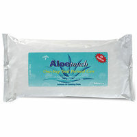 Medline Aloetouch Fragrance Free Wipes with Dimethecone