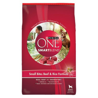 Purina PetCare Purina One Smartblend Adult Small Bites Beef & Rice - 18 lb.