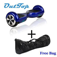 Ameritoy HoverBoard 2015 Two Wheels Self Balancing Smart electronic with led light intelligent scateboard (White)