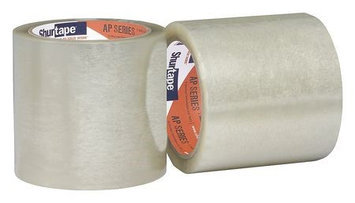 SHURTAPE AP 015 Film Tape, Clear, Continuous Roll, PK18