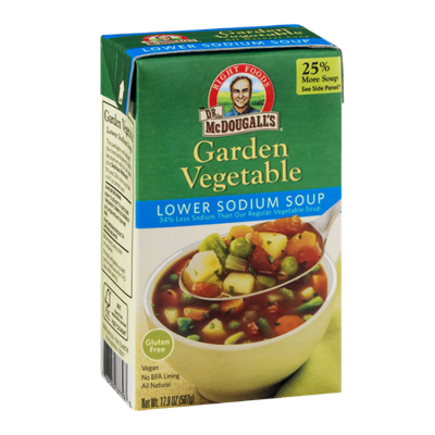 Dr. McDougall's Right Foods Lower Sodium Soup Garden Vegetable