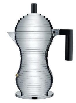 Alessi Pulcina Coffee Maker Color: Black, Size: 48 oz.